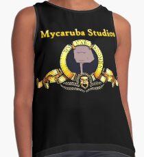 Mycaruba Studios Logo Ärmelloses Top