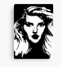 Debbie Harry: Graphic Canvas Print