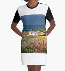 Quiksilver Pro venue at Snapper Rocks Graphic T-Shirt Dress