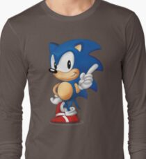 sonic the hedgehog Long Sleeve T-Shirt