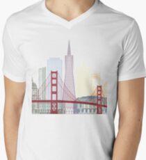 San Francisco skyline poster T-Shirt