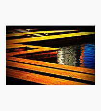 Colour Abstract Photographic Print