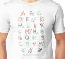 Animal Alphabet Unisex T-Shirt
