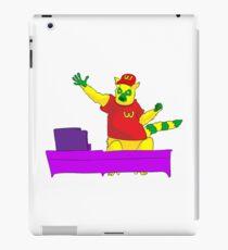 Lemur in mcdonalds iPad Case/Skin