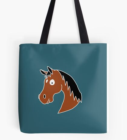Bay Horse with a Star Tote Bag