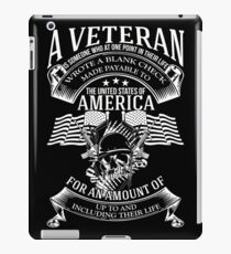 A VETERAN iPad Case/Skin