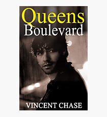 """Queens Boulevard"" Poster Design Photographic Print"