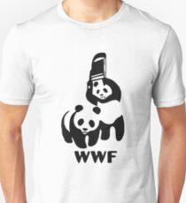 Panda Wrestling Meme Unisex T-Shirt