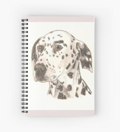 Dalmatian Drawing Spiral Notebook