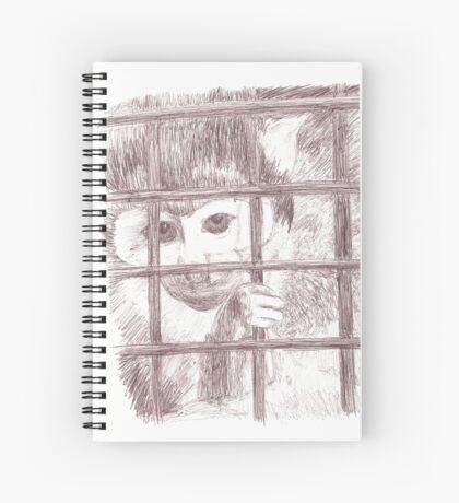 Squirrel Monkey Sketch Spiral Notebook