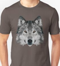 Crystalline Wolf Unisex T-Shirt