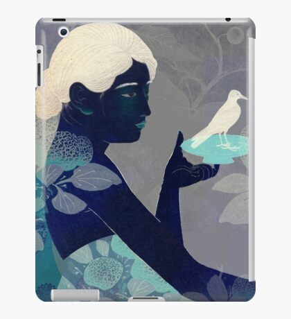Bird on a plate iPad Case/Skin