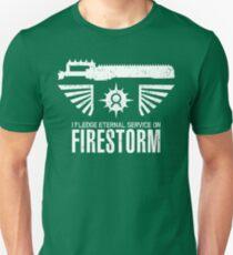 Pledge Eternal Service on Firestorm - Limited Edition T-Shirt