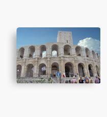 Arles Amphitheater Canvas Print