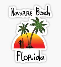 Navarre Beach Florida. Sticker