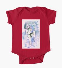 Women in Martial Arts Blue Kids Clothes