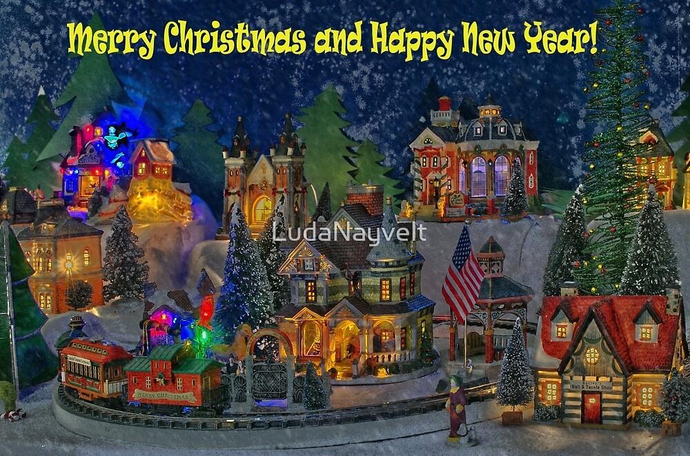I wish you all Merry Christmas & Happy New Year! by LudaNayvelt