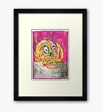 Spooky Spooky Framed Print