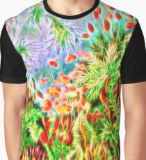 Plants & Animals, magic mushrooms, fungi, bryophyta, moss, psychedelic, art, illustration, haeckel,  Graphic T-Shirt