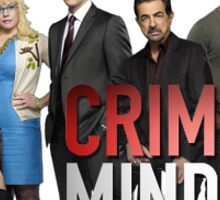 Criminal minds Sticker
