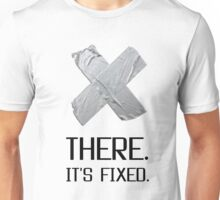 It is Fixed Broken Heart Duct Tape Funny Unisex T-Shirt