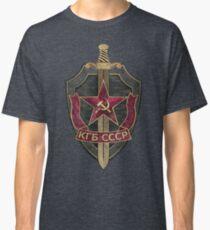 KGB Vintage Emblem 01 Classic T-Shirt