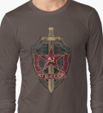 KGB Vintage Emblem 01 Long Sleeve T-Shirt