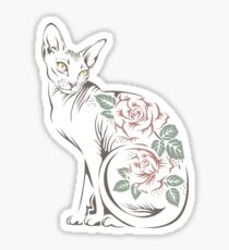 Cat sphinx Sticker