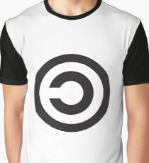 Copyleft Symbol - Support the Free Web! Graphic T-Shirt