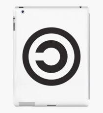 Copyleft Symbol - Support the Free Web! iPad Case/Skin