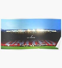 Manchester United - Old Trafford Poster