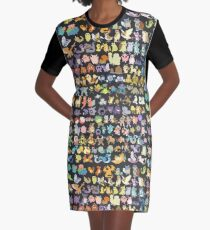 151 monsters Graphic T-Shirt Dress
