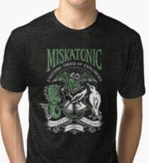 Miskatonic Esoteric Order of Explorers Tri-blend T-Shirt