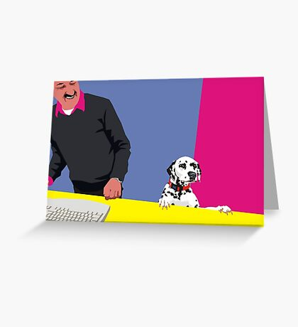 How may I help you? Greeting Card