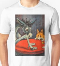 Donkey~Pembroke Corgi~Dog~Gamble in Cripple Creek~Colorado Unisex T-Shirt