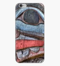 Haida First Nations Totem Carving iPhone Case