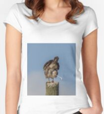 Oops!  Did You Just See Me Doing That? Women's Fitted Scoop T-Shirt