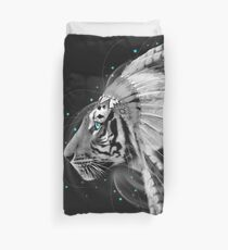Don't Define Your World (Chief of Dreams: Tiger) Tribe Series Duvet Cover