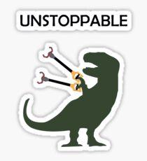 Unstoppable Dinosaur Sticker