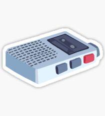 Peridot Tape Recorder Sticker Sticker