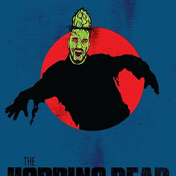 The Hopping Dead - Parody Zombie Movie Poster Graphic by nealw6971