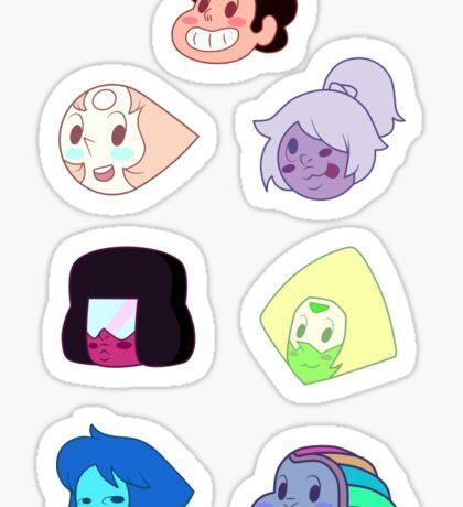 Crystal Gem Point Sticker Set Sticker