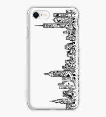 NYC Mandala Skyline  iPhone Case/Skin