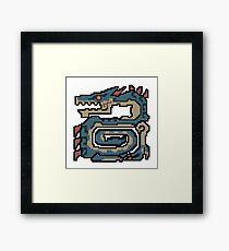 Thunder Dragon Framed Print
