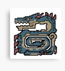 Thunder Dragon Canvas Print
