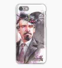 Watercolor Delgado!Master partly opaque version iPhone Case/Skin