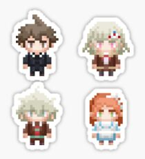 Danganronpa 3 Despair Pixel Chibi Stickers - Set A Sticker