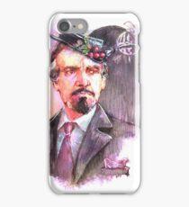 Watercolor Delgado!Master transparent version iPhone Case/Skin