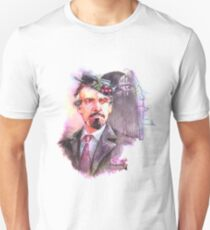 Watercolor Delgado!Master transparent version Unisex T-Shirt