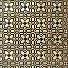 Iberian Moorish Style Check Pattern by Stephen Frost